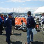 海の安全講習会/膨張式救命筏講習会