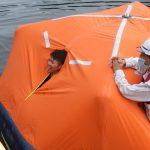 2020年度 静岡県立漁業高等学園/膨張式救命筏講習会開催