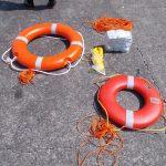 2021年度 静岡県立漁業高等学園/膨張式救命筏講習会開催