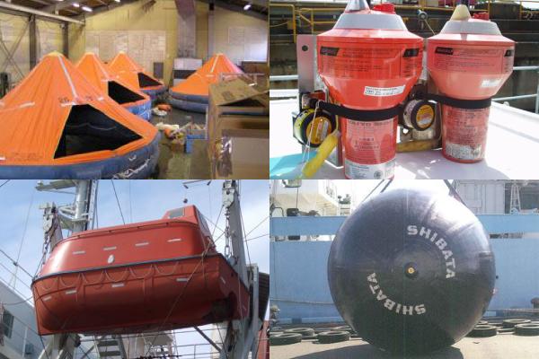 法定船用品
